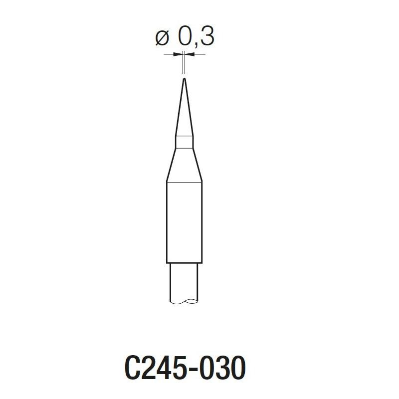 JBC C245030 head soldering tips for CD-2BE soldering stationJBC C245030 head soldering tips for CD-2BE soldering station