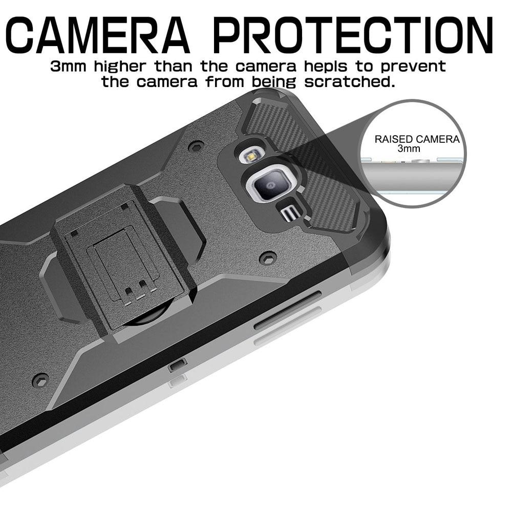 Armor Case Kickstand Belt Clip Holster Cover För Samsung Galaxy J1 - Reservdelar och tillbehör för mobiltelefoner - Foto 3