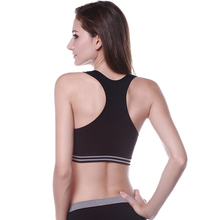 Women Sports Bra Seamless Gym Walk Lace Leisure Underwear Tank Crop Top Vest Drop Shipping