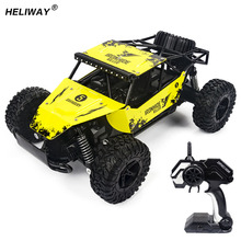 Electric RC Cars 4CH Hummer Off-Road Vehicles 2.4G High Speed SUV Car Damping Toy Car Remote Radio Control Car Model