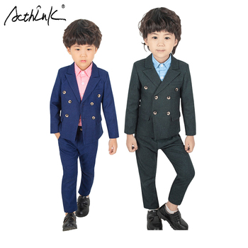 Acthink Yeni Erkek Kruvaze Ceket Takım Elbise Ingiltere Stil Erkek