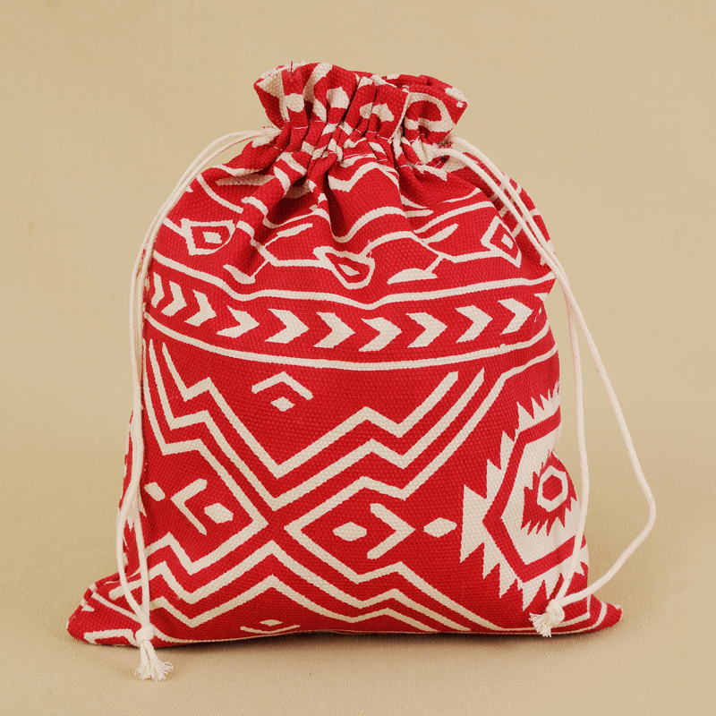 ≧2016 New Arrival Linen Cotton Jewelry Pouch 50pcs/Lot 9x13cm Small ...