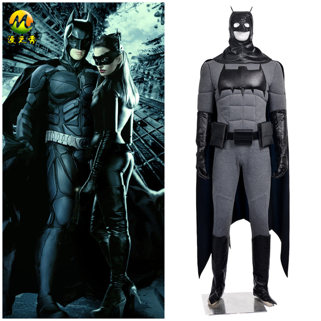 Top Quality The Dark Knight Rises Batman Cosplay Costume Bruce Wayne Cosplay Dress For Halloween Men  sc 1 st  AliExpress.com & Top Quality The Dark Knight Rises Batman Cosplay Costume Bruce Wayne ...