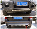 ABS пластик Передний + задний бампер Защита противоскользящая пластина 2 шт для Hyundai Tucson 2005-2012