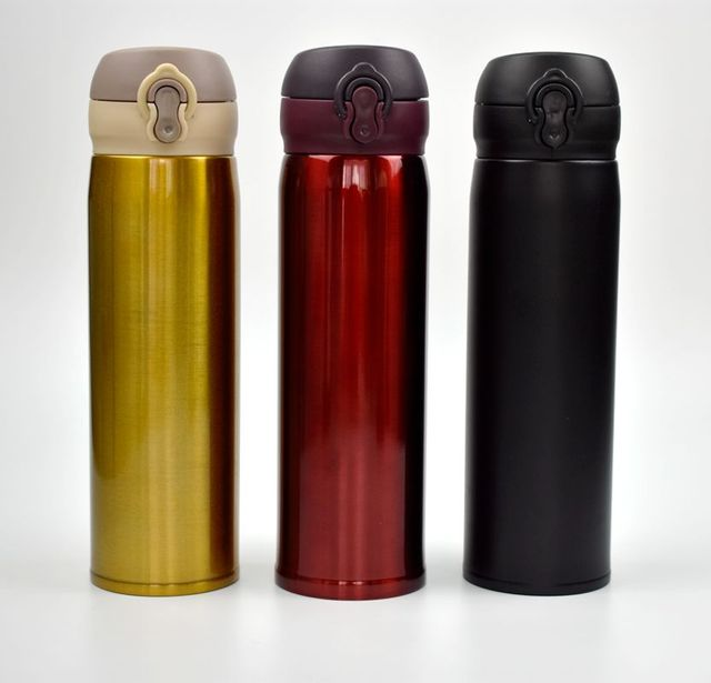 Portable Thermos Bottle and Reusable Coffee Cup
