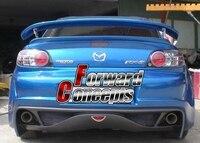 FOR 2004 2010 RX8 Mspeed JDM GT Rear Wing Trunk Spoiler