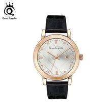 ORSA JEWELS Women Fashion Watch Reloj Mujer Genuine Leather