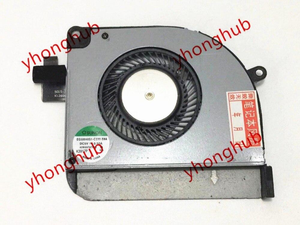 SUNON EG50040S1 C330 S9A X2 13 P SPLIT 13 M 734975 001 DC 5V 0 50A