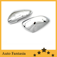 Chrome Side Mirror Cover for Volkswagen Golf MK6 Free Shipping