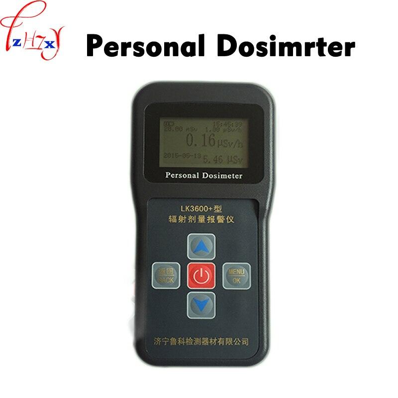 1 pc LK3600 + détecteur de rayonnement nucléaire personnel dosimètre alarme moniteur X, gamma et rayons bêta durs