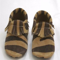 Brand Genuine Leather Crib Shoes New Baby Suede Moccasins Soft Leather Moccs Baby Girl Shoes Toddler