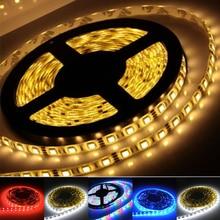 Manufacture wholesale LED strip light ribbon 5 meters 300 pcs SMD5050 DC 12V RGB White/Warm White/Red/Blue/Yellow single color