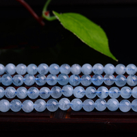 High Quality Nature Aquamarin Loose Beads for women jewelry DIY Making for Necklace an bracelets & earrings