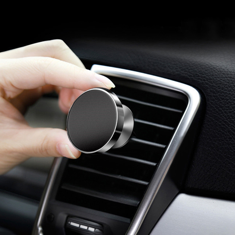 Magnetic Phone Holder Air Vent Mount In Car Universal Mobile Phone Clip Support 360 Degree GPS Navigation For IPhone 8 Xiaomi LG