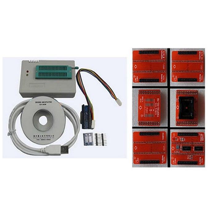 minipro TL866A highspeed USB MCU eeprom programmer with ICSP interface and adapters TSOP48/TSOP40/TSOP32 socket