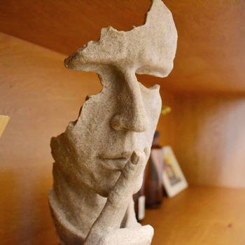 35*14cm Resin model of European sculpture ornaments abstract creative study office desktop decorations home accessories