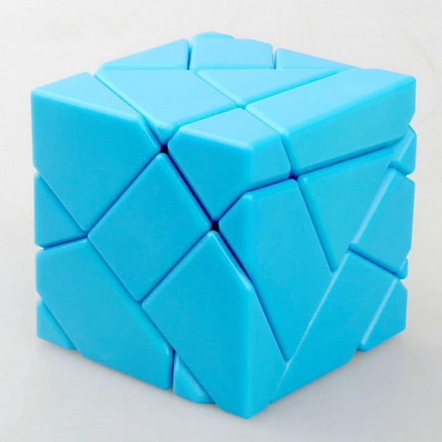 Ninja 60mm 3x3x3 Cubo Rompecabezas Velocidad Skewb Cubos Mágicos Fantasma Juego CubesEducational Juguetes para Los Niños Regalo de Cumpleaños de los niños