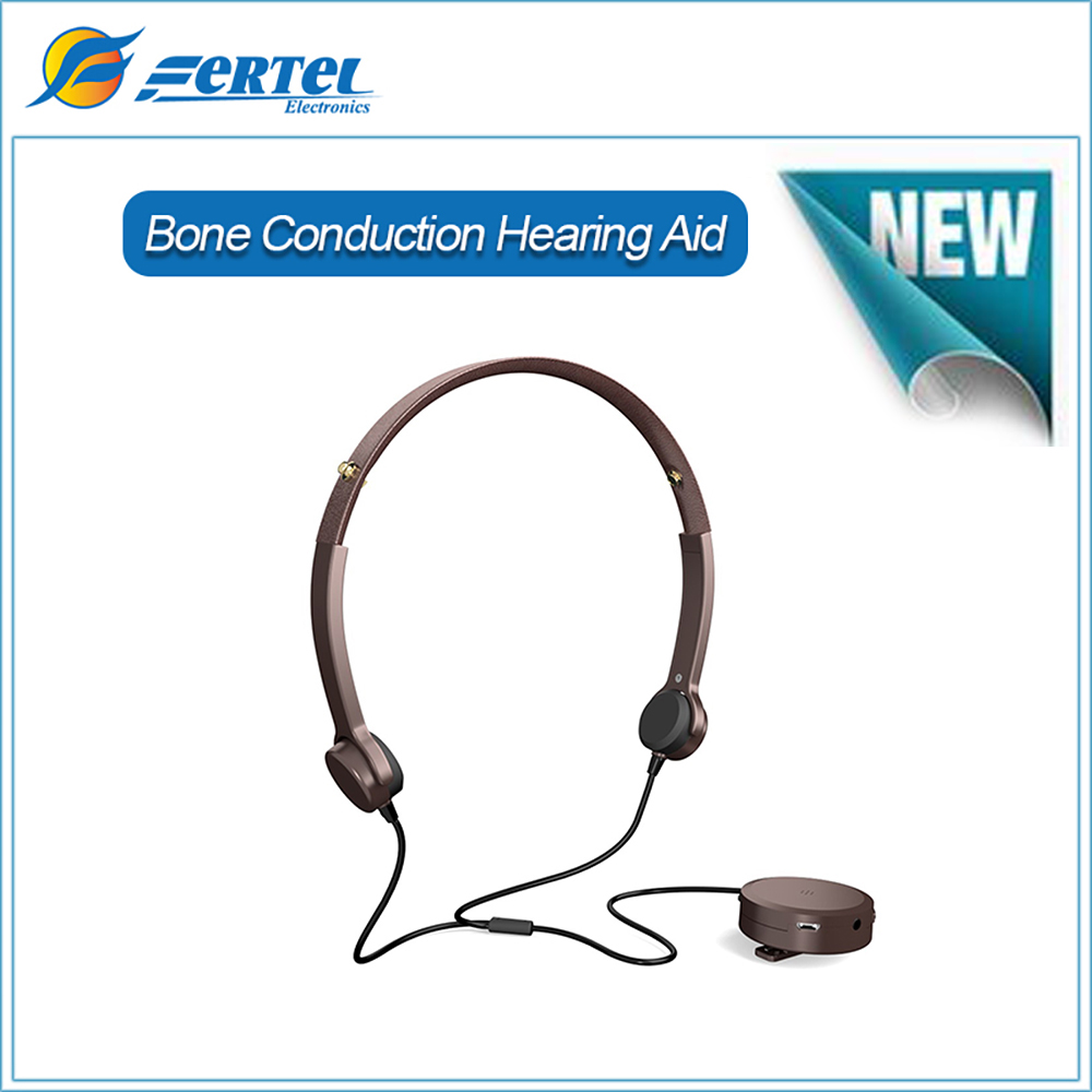 New Arrival Bone Conduction Headphone Hearing Aid Health Best Sound Amplifier Hearing Aids for Elder with