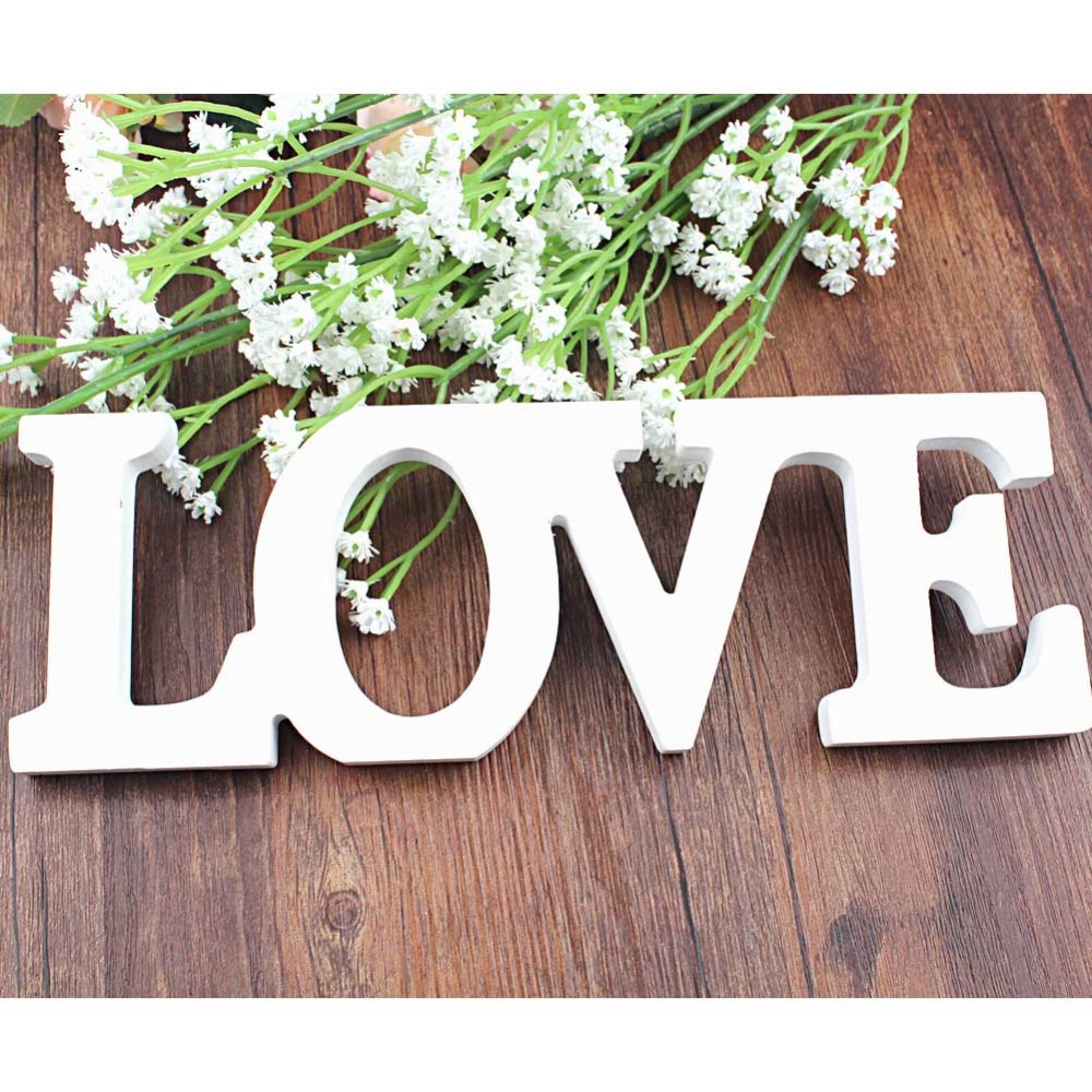 Love Wedding Decorations Aliexpresscom Buy Love Letters For Wedding Decoration High