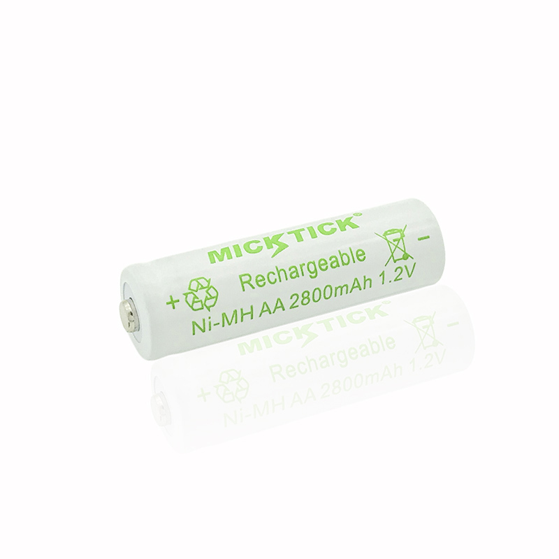12Pcs 1.2V AA 5# 2A 2800mAh NI-MH Battery battiries batteria Rechargeable Low self Battery Capacity camera,toys free shipping