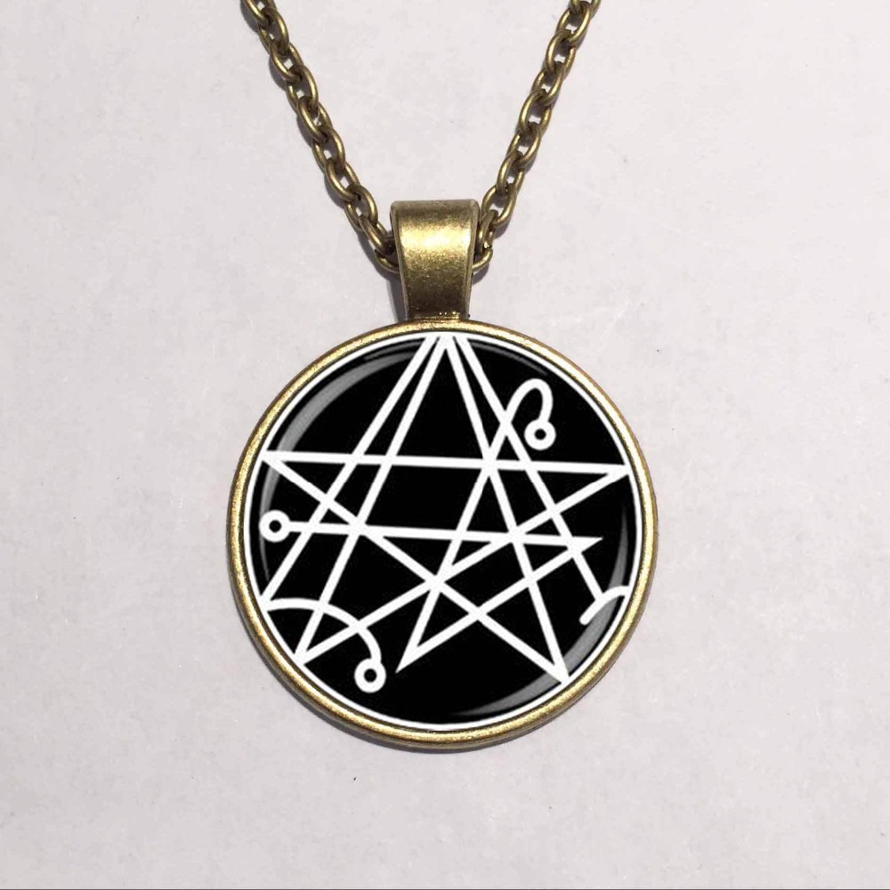Hot glass dome jewelry necronomicon the elder signsigil of hot glass dome jewelry necronomicon the elder signsigil of gateaway pendant necklace fashion jewelry in pendant necklaces from jewelry accessories on aloadofball Choice Image