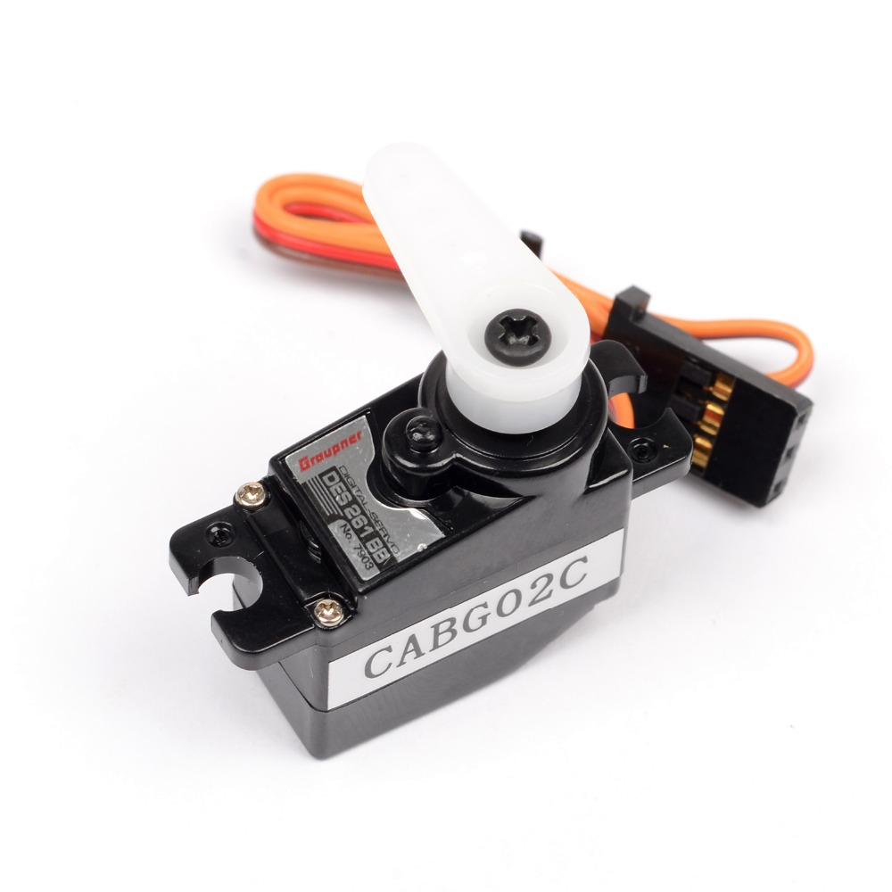 Graupner DES 261 BB Torque Parkflyer 11.2mm Digital Servo Airplane Helicopters Accessories Free Shipping