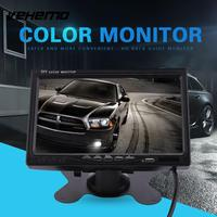 7 Inches TFT Display Car Rear View Camera HD Reverse Monitor DC 12 30V