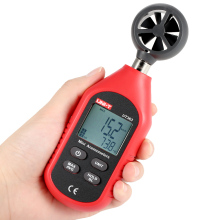 UT363 Handheld Anemometer Digital Wind Speed Measurement Temperature Tester LCD Display Air Flow Meter