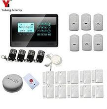 YobangSecurity Intruder Alarm System GSM Auto Dial Dwelling Safety System Burglar Alarm Equipment Name Dwelling Home Intruder Alarm Siren