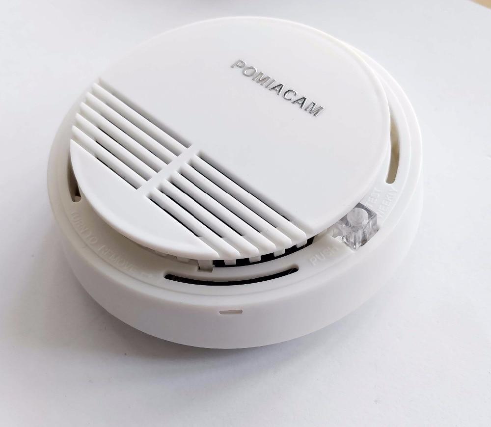 Ss 168 5pcs Lot Smoke Alarm Beeping Fire Alarm Warning Sensor