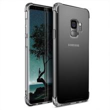 Dirt Resistant Phone Case For Samsung Galaxy S9 G9600 Anti Skid Soft TPU Rubber Shock Absorption