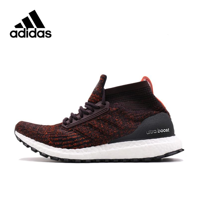 Novedad auténtico Adidas Ultra Boost Mid hombres transpirables zapatillas deportivas al aire libre caminar Atlético