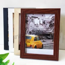 Natural Wood Photo Frame For Wall Classic Picture Poster Album Living Room Home Decor