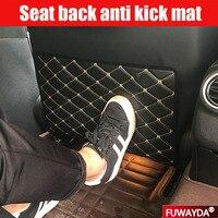 Frete grátis!! assento de carro Voltar Protector Tampa Anti Pontapé Mat Para Toyota Crown REIZ COROLLA PRIUS VIOS LAND CRUISER PRADO Tapete anti-sujeira p/ carros Automóveis e motos -