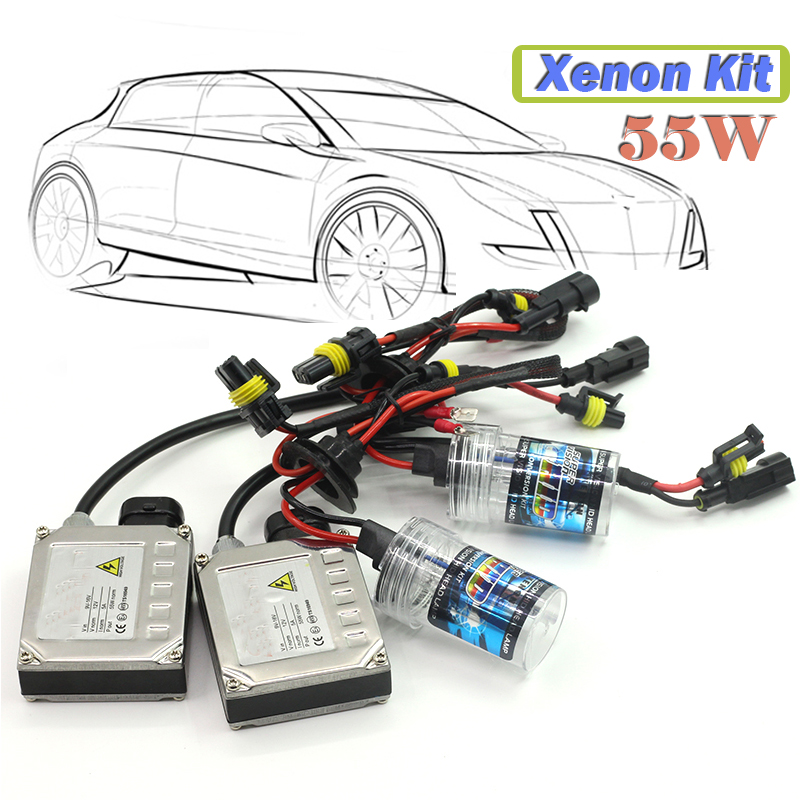 35W H7 Xenon Conversion HID KIT Bulb Aluminum Shell Ballast 4300K-15000K Car Headlight Daytime Running Light DRL Fog Lamp  55w xenon hid kit aluminum shell ballast bulb 3000k 15000k car conversion headlight head light for is250 2006 2013