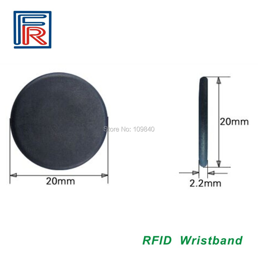 500pcs 125khz PPS washable Laundry Rfid tag with TK4100 Dia 20mm Free shipping by DHL 100pcs high temperature resistant uhf rfid pps laundry tag small with alien h3 chip used for laundry management