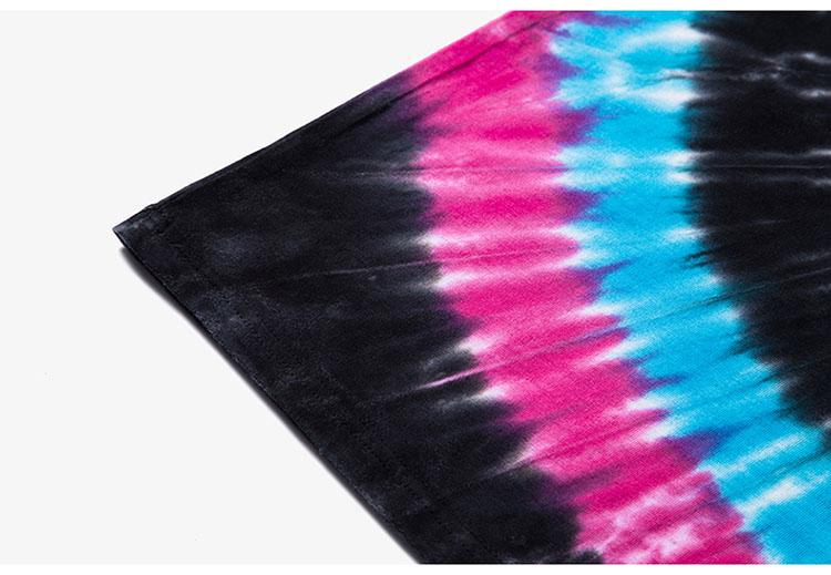 Aolamegs Tank Tops Men Tie Dye Rainbow Color Tee Sleeveless T Shirts Homme 2017 Spring Summer Hip Hop Fashion Streetwear M-XXL (6)