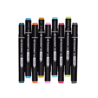TOUCHNEW Art Marker 36 48 72 80 168 Color Package Postal Generation Both Head Oiliness Student