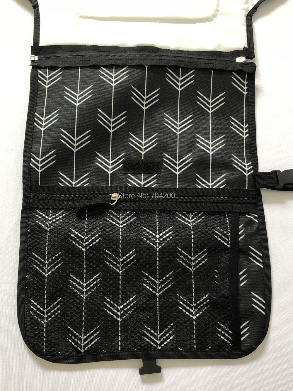 Черная стрела коллекции портативный младенческой Путешествия пеленка для пеленки мешок