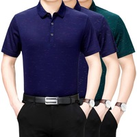 Mens Tshirts Summer 2019 100% Silk T Shirt Men Plus Size T shirt Casual Man Clothes Men's Shirts Para Hombre T3 03H902 KJ1961