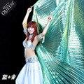 Египет Belly Dance Isis Крылья Для Взрослых Индия Танцовщица Танца Живота Аксессуары Костюма Без Ручки 13 Цветов