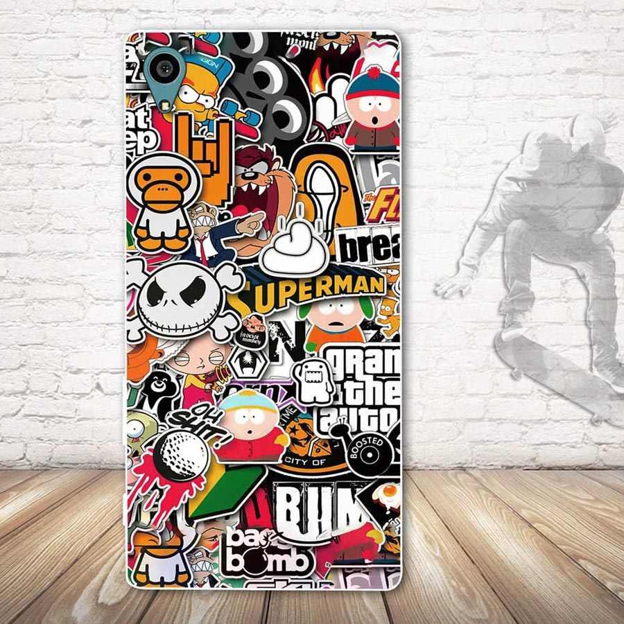 Voor Sony Xperia Z4 E6533 E6553 Siliconen Telefoon Case Voor Sony Xperia Z 4 Soft TPU Back Cover voor Sony xperia z4 Schelpen Fundas Tassen