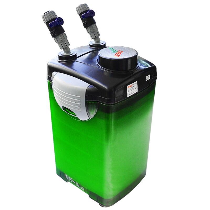 JEBO AP-829 5 couches filtre boîte Aquarium filtre baril cylindre filtre pompe à eau silencieux herbe réservoir filtre équipement
