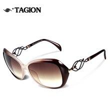 TAGION Elegant Female Sunglasses Women Plastic Butterfly Sun Glasses Traveling Eyewear Driving Goggles Oculos De Sol Feminino