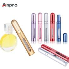 Anpro 12 мл портативный мини дорожный парфюмерный флакон с распылителем многоразовый пустой флакон-спрей для женщин и мужчин спрей Аромат после бритья