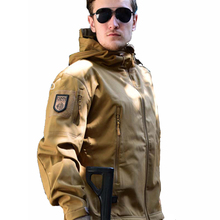 TAD Outdoor Sport Men Camping Hiking Jacket  Tactical Soft Shell Hunting Jacket Waterproof Windproof Hooded Jacket Coat autumn m65 jungle hooded jacket outdoor hiking hunting detachable liner windbreaker army tactical windproof waterproof coat