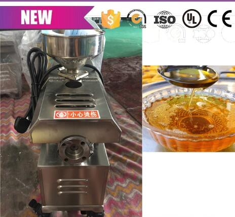 Livraison gratuite petit extracteur d'huile presse à olive machine presse à froid presse à huile colophane machine - 4