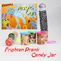 Funny Trick Frighten Prank Candy Jar Sudden Jump Out With Voice Practical Jokes Gag Joking Toy