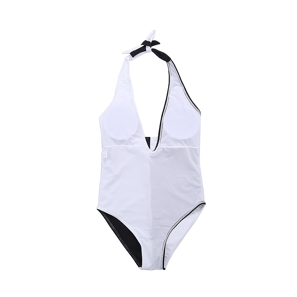 2019 new hanging neck mother and daughter suits patchwork swimwear women 39 s swimming suit children 39 s swimsuits kids beach wear in Children 39 s One Piece Suits from Sports amp Entertainment