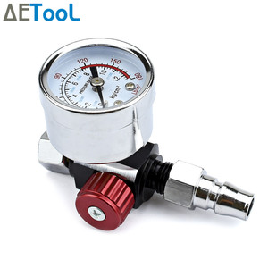 Image 2 - AETool Spray Gun Adjust Air Pressure Regulator Gauge Car Auto Repair Painting Tool Spray Gun Accessories Pneumatic Gun Regulator